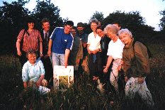 A local CEL group (Harrogate) on a summer farm walk