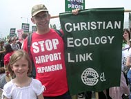 stop airport expansion protest