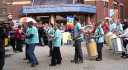 We set off from Methodist Central Hall led by a Samba Band